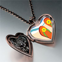 Necklace & Pendants - christian cross photo heart locket pendant necklace Image.