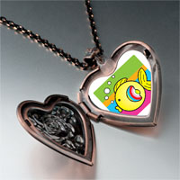 Necklace & Pendants - animal fish photo heart locket pendant necklace Image.