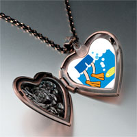 Necklace & Pendants - animal swimming fish photo heart locket pendant necklace Image.