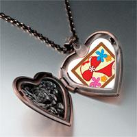 Necklace & Pendants - travel bikini photo heart locket pendant necklace Image.
