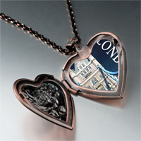 Necklace & Pendants - landmark london photo heart locket pendant necklace Image.