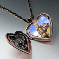 Necklace & Pendants - landmark bangkok photo heart locket pendant necklace Image.