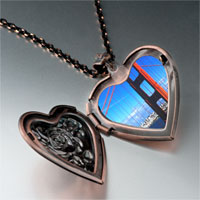 Items from KS - travel golden gate bridge photo heart locket pendant necklace Image.