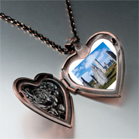 Items from KS - travel callanish standing stones photo heart locket pendant necklace Image.