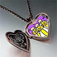 Necklace & Pendants - religion christian church choir photo heart locket pendant necklace Image.