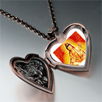 Necklace & Pendants - religion buddha photo heart locket pendant necklace Image.