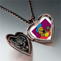 Necklace & Pendants - music passion singer photo heart locket pendant necklace Image.