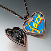 Necklace & Pendants - music jazz photo heart locket pendant necklace Image.