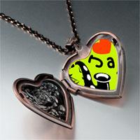 Necklace & Pendants - music love jazz photo heart locket pendant necklace Image.