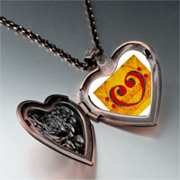 Necklace & Pendants - music score heart photo heart locket pendant necklace Image.