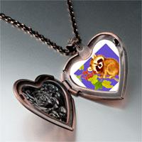 Necklace & Pendants - wildlife kola photo heart locket pendant necklace Image.