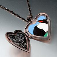 Necklace & Pendants - wildlife dutch rabbit photo heart locket pendant necklace Image.