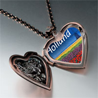Necklace & Pendants - travel holland photo heart locket pendant necklace Image.