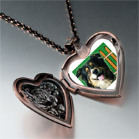 Necklace & Pendants - travel australian shepherd photo heart locket pendant necklace Image.