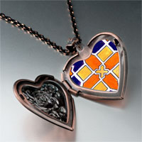 Necklace & Pendants - artwork tile photo heart locket pendant necklace Image.