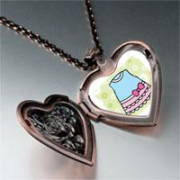 Necklace & Pendants - hobbies doll dress photo heart locket pendant necklace Image.