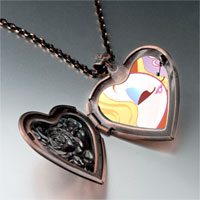 Necklace & Pendants - hobbies loving makeup photo heart locket pendant necklace Image.