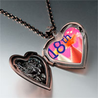 Necklace & Pendants - 18 th photo italian heart locket pendant necklace Image.