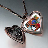 Necklace & Pendants - happy hallowmas photo italian heart locket pendant necklace Image.