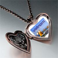 Necklace & Pendants - vietnam photo italian heart locket pendant necklace Image.