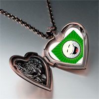 Necklace & Pendants - laughing face photo italian heart locket pendant necklace Image.