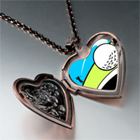 Necklace & Pendants - golf photo italian heart locket pendant necklace Image.