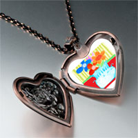 Necklace & Pendants - vase photo italian heart locket pendant necklace Image.