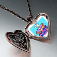 Necklace & Pendants - gift box photo italian heart locket pendant necklace Image.