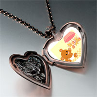 Necklace & Pendants - christmas heart locket pendants bear windbell photo italian heart locket pendant necklace Image.