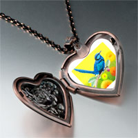 Necklace & Pendants - thrush photo italian heart locket pendant necklace Image.