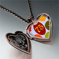 Necklace & Pendants - color balloon photo italian heart locket pendant necklace Image.