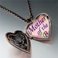Items from KS - mother bride photo italian heart locket pendant necklace Image.