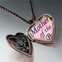 Items from KS - mother bride photo italian heart locket pendant necklace Image.