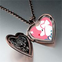 Necklace & Pendants - poodle photo italian heart locket pendant necklace Image.