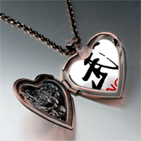 Necklace & Pendants - kungfu photo italian heart locket pendant necklace Image.