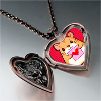 Necklace & Pendants - mouse photo italian heart locket pendant necklace Image.