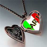 Necklace & Pendants - bari photo italian heart locket pendant necklace Image.