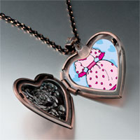 Necklace & Pendants - dress shoe photo italian heart locket pendant necklace Image.