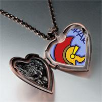 Necklace & Pendants - spartan photo italian heart locket pendant necklace Image.