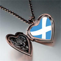 Necklace & Pendants - flag photo italian heart locket pendant necklace Image.