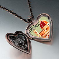 Necklace & Pendants - firenze photo italian heart locket pendant necklace Image.