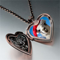 Necklace & Pendants - llama photo italian heart locket pendant necklace Image.
