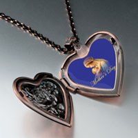 Necklace & Pendants - mother' s day holding baby heart locket pendant necklace heart rose Image.