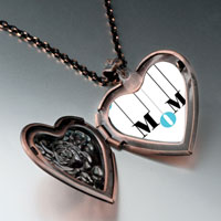 Necklace & Pendants - colorful heart locket pendant necklace heart rose Image.