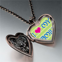 Necklace & Pendants - i heart family photo heart locket pendant necklace Image.