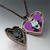 Necklace & Pendants - dracula photo heart locket pendant necklace Image.