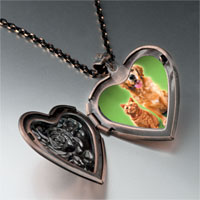 Necklace & Pendants - dog cat pet pals heart locket pendant necklace Image.