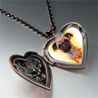 Necklace & Pendants - baby heart locket pendant necklace Image.