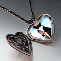 Necklace & Pendants - equestrian horse face pendant necklace Image.