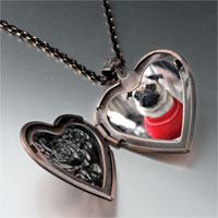 Necklace & Pendants - dressed up heart locket pendant necklace Image.